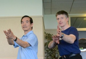 Frank Murphy and Dr Paul Lam