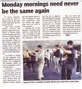 Tai Chi Monday Mornings press release (802 x 860)